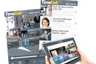Get the new TimeOut app for free from the iTunes store for iPhones, iPads, tablets like the Sony Tablet S (above) or Android devices. Photos / Supplied