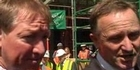 Watch: Election 2011: John Key and Nick Smith on employment