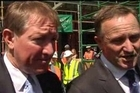 Nick Smith and John Key talk about employment and National policy.