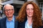 Former Chief Executive of News International and Rupert Murdoch. Photo / AP