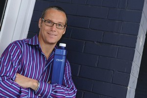 An in-flight tragedy inspired Roger Boyd to develop 1Above, a high-end aerotonic flight beverage. Photo / Supplied