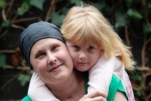Emma Hounsell and daughter Rebecca are among thousands of Kiwis who have to cope with the effects of a blood cancer. Photo / Richard Robinson