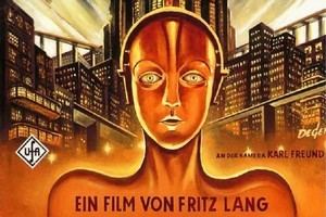 Poster of 1927 Fritz Lang movie Metropolis. Photo / Supplied