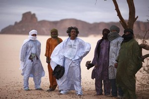 The music made by Mali-born members of Tinariwen helps to raise awareness of their fragile culture and troubled homeland. Photo / Supplied