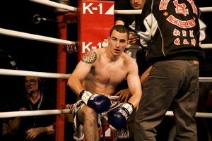 Jan Antolik (real name Karel Sroubek) is a world class kickboxer found guilty of false passport charges. Photo / Supplied