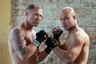 Shane Cameron will square up to Monty Betham in the Fight for Life next month. Photo / Doug Sherring