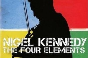 Nigel Kennedy, The Four Elements. Photo / Supplied