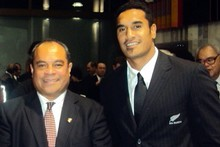 Su'a William Sio says Jerome Kaino does what his elders tell him to do. Photo / Supplied