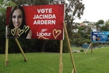 Replacing defaced billboards pushes politicians' budgets beyond their allocations. Photo / Supplied