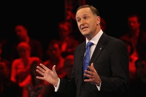 John Key. Photo / Richard Robinson