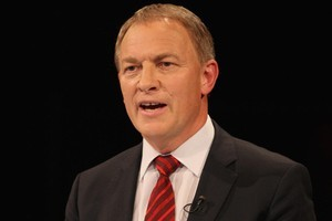 Phil Goff's Wikipedia page was vandalised on October 25. Photo / Getty Images