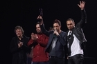 Shihad's IGNITE is great, but perhaps the best band didn't win on the night. Photo / APN