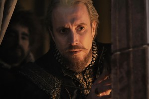 """In this film image released by Columbia Pictures, Rhys Ifans portrays the Earl of Oxford in a scene from """"Anonymous."""" Photo / AP"""