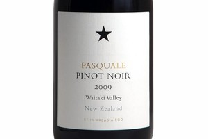 2009 Pasquale Pinot Noir, $50. Photo / Supplied