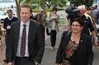 Russel Norman and Metiria Turei have every reason to be pleased.  Photo / Greg Bowker
