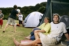 Whakanewha Regional Park on Waiheke Island is a great place for a family camp. Photo / Jeff Brass