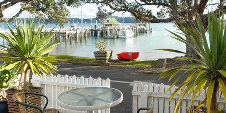 Russell's historic Duke of Marlborough hotel is a lovely spot to soak up the sights and sounds of the Bay of Islands. Photo / Supplied