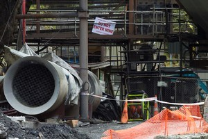 The entrance to the Pike River Coal mine. A mining contractor is expected to tell the Royal Commission he was too scared to go into the mine. Photo / APN