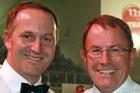 John Key and  John Banks. File photo / Norrie Montgomery