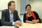 Green Party co-leaders Russel Norman and Metiria Turei. Photo / APN