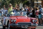 This 1957 Chevrolet Corvette is what Alan Shepard, the first American to travel into  space, drove when he reported for space programme training in April 1959. Photo / Supplied