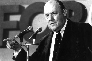 Robert Muldoon spent excessively under the first-past-the-post electoral system. Photo / NZ Herald
