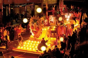 La Fete de Noue, or Christmas Festival, held annually on Jersey, the largest of the Channel Islands. Photo / Supplied
