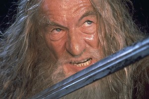 Sir Ian McKellen initially turned down the role of Gandalf in Lord of the Rings because of a clash with his X-Men movie. Photo / Supplied