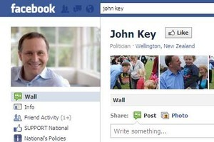 Politicians have taken to the web. Photo / Supplied