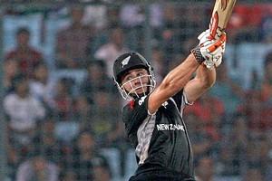 Kane Williamson of New Zealand bats. Photo / Getty Images