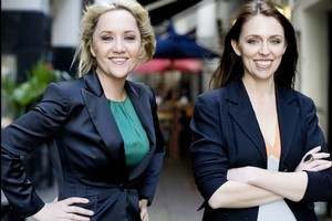 National MP Nikki Kaye, left, and Labour list MP Jacinda Adern, who are both vying for the Auckland Central seat. Photo / David White