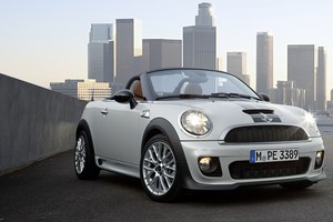 New Zealand buyers of the Roadster will get familiar Mini styling in the cabin, a manual fabric roof and comprehensive safety features. Photo / Supplied