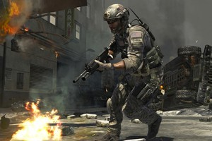 Activision's Modern Warfare 3 is squaring off against Electronic Arts' Battlefield 3, also freshly released. Photo / Supplied