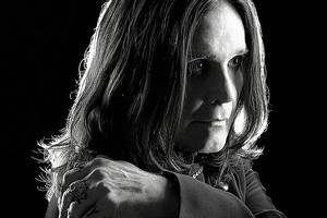 Ozzy Osbourne once 'went crazy' with a dead shark. Photo / Supplied