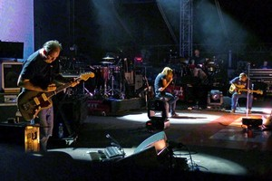 Portishead will be playing at Vector Arena in Auckland tonight. Photo / Supplied