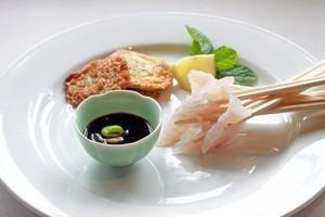 The freshest fish available is best for sashimi. Photo / Doug Sherring