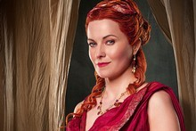 Lucy Lawless in Spartacus. Photo / Supplied