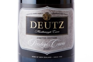 Deutz Marlborough Cuvee Limited Edition Prestige Cuvee 2007 $43.99. Photo / Babiche Martens