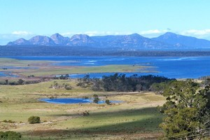 The Freycinet Peninsula is a promising area for Tasmanian red wine production.