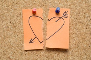 There are many ways to dump someone, like leaving a post-it note. Photo / Thinkstock