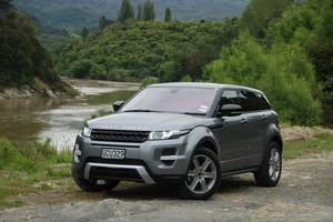One hot SUV, the Evoque is also talented on seal. Photo / Jacqui Madelin