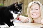 Stacey Gillies and her cat Stevie Nicks. Photo / Supplied