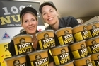 Martine Goodacre and Ashley Jolly want to sell their 100 per cent Nutz products in Australia. Photo / Paul Estcourt