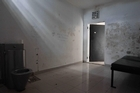 A cell in Avarua where Zac Guildford spent a night. Photo / Greg Bowker