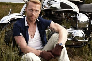 Ronan Keating will play two shows in New Zealand. Photo / Supplied