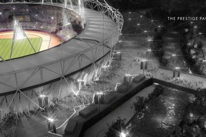 The Olympic Stadium will have a strong FBI presence when the Olympics kick off next year. Photo / supplied
