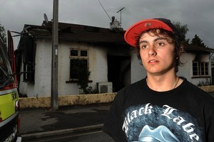 Daniel Mackie says his only concern was getting the boy out of the smoke-filled house. Photo / Otago Daily Times