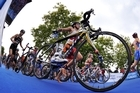 The key New Zealand athletes are taking part in the event which features a strong international field. Photo / Triathlon.org