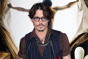 Johnny Depp insists his latest film will be bigger in Europe than in America. Photo / AP