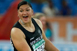 Valerie Adams says winning at the world champs has given her confidence for the Olympics. Photo / Brett Phibbs